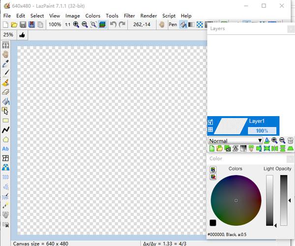 LazPaint图像编辑处理软件 v7.1.1免费版-痴痴资源网